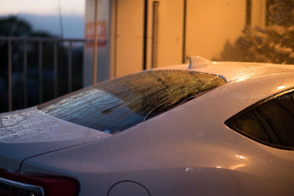 千葉県 富津 金谷 南房総 スタンド 86 洗車