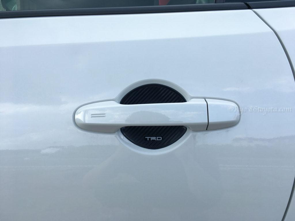 86 door handle protector ドアハンドルプロテクター