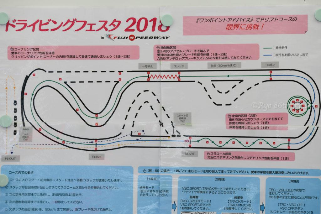 富士スピードウェイ 86 gr ドライビングフェスタ ドリフトコース