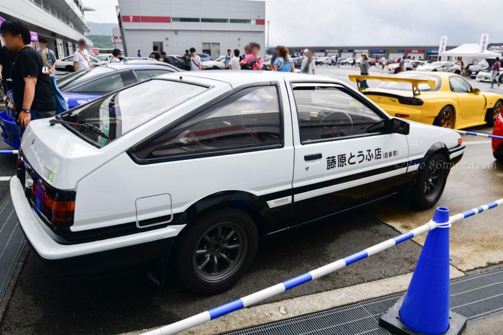 富士スピードウェイ AE86 brz カスタムパーツ